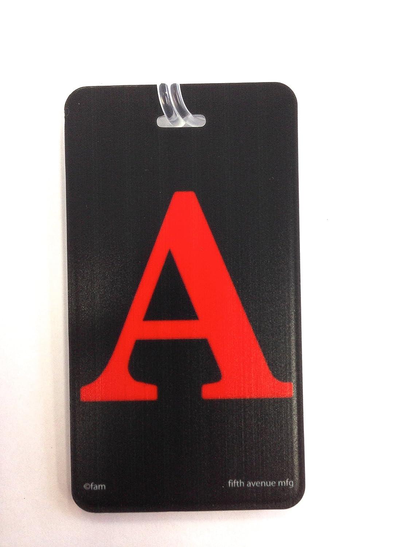 Amazon.com | pb travel Leather Initial 'B' Luggage Tag | Luggage Tags
