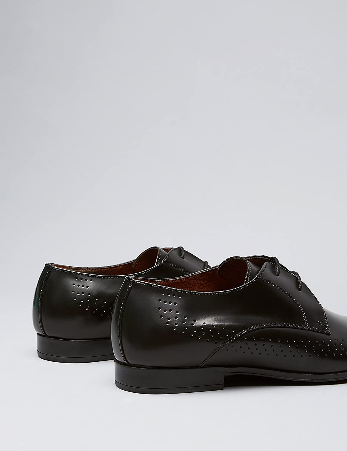 Mens Leather Formal Lace-Up Pointed Shoes Brand find