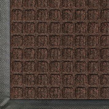 Waterhog Classic Entry Door Mat Dark Brown Color, 2u0027 X 3u0027 With Rubber