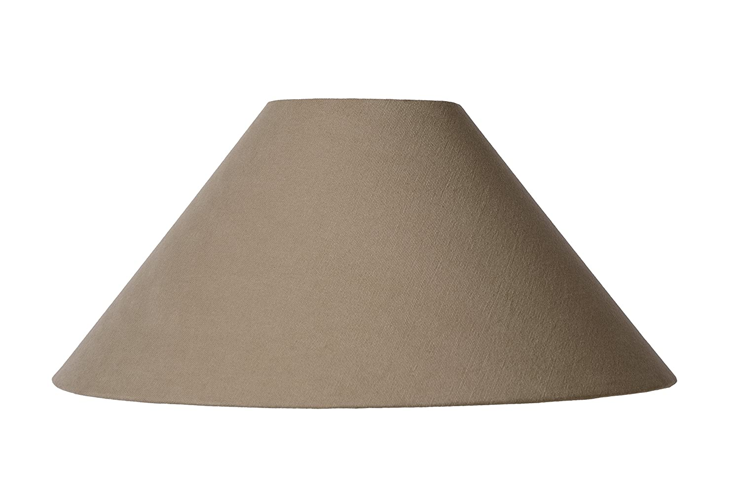Lucide SHADE - Abat Jour Lampe - Ø 45, 5 cm - Taupe 61022/45/41