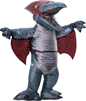 Adult Jurassic World 2 Inflatable Pteranodon Fancy Dress Costume Standard