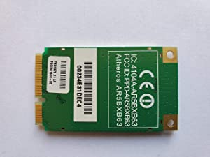 Acer Aspire 5100 Laptop AR5BXB63 802.11BG PCI-Express Mini Wireless Card- T60H976.00