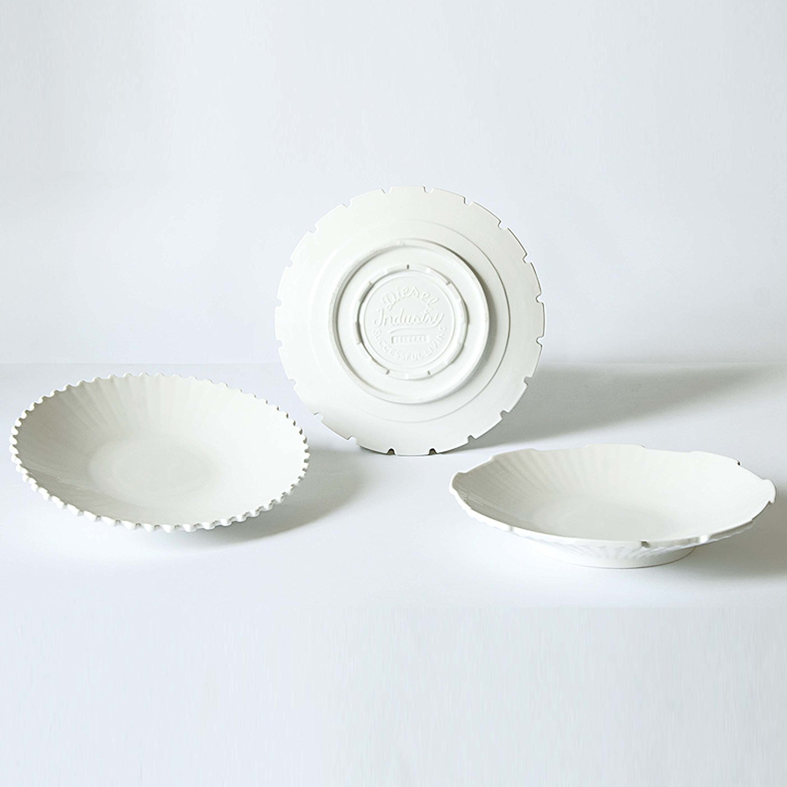 Diesel By Seletti Machine Collection, Set of 3 Soup Bowls