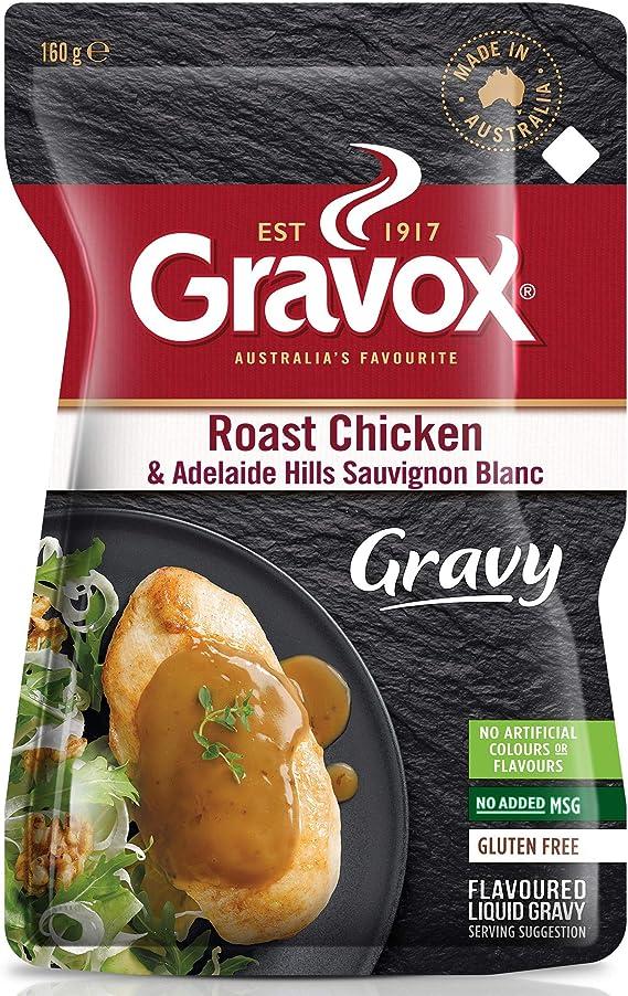 Gravox Roast Chicken Sauvignon Blanc Liquid Gravy 160gm