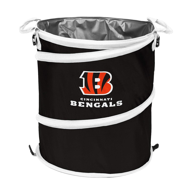 Logo Brands NFL Collapsible Multi Function Pop-Up Barrel 602-35 Cooler Hamper or Trash Can Logo Chair Inc