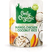 Only Organic Mango Chicken & Coconut Rice 10+ Months - 170g