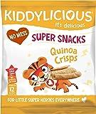 Kiddylicious Quinoa Crisps, 12 g, Pack of 9