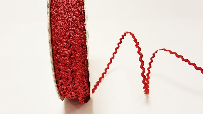 6mm Ric Rac Trim 20 METRE ROLL BEIGE Ribbon Braid Trimming Craft Full Reel