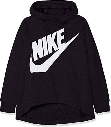 Nike Mädchen G NSW Hoodie Po Pe Sweatshirt: