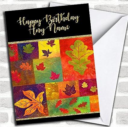 Tarjeta de felicitación de cumpleaños personalizada, diseño ...