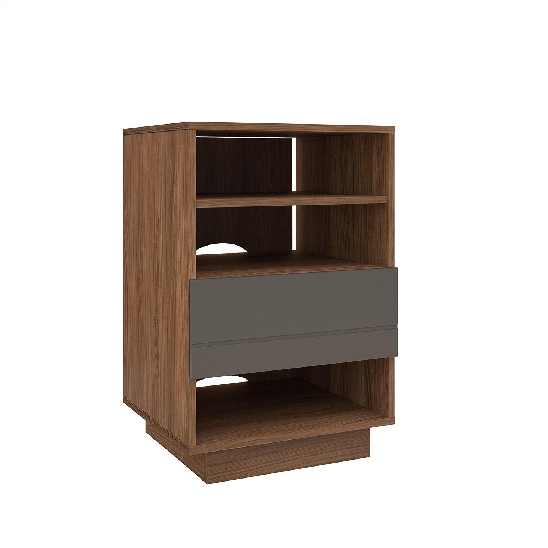 nexera furniture website. Amazon.com: Nexera 105242 Radar 1-Drawer Audio Cabinet, Walnut \u0026 Charcoal: Kitchen Dining Furniture Website O