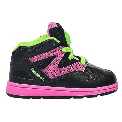 f4a29c250b5f08 Reebok Versa Pump Omni Lite - Kids Sneaker - Schwarz Pink-21  Amazon ...