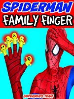 Spiderman Finger Family! Funny Superheroes: Spider-man, Joker, Venom, and the Hulk [OV]