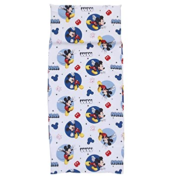 Amazon.com: Mickey Mouse de Disney Preschool Nap Mat Hoja ...