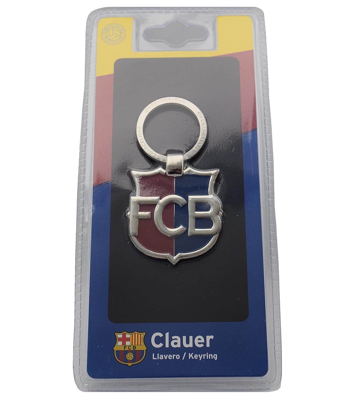 Llavero Oficial FC Barcelona Escudo FCB: Amazon.es: Deportes ...