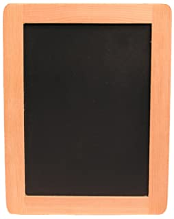 creative hobbies 5 x 7 synthetic chalkboard with unfinished wood frame pack of