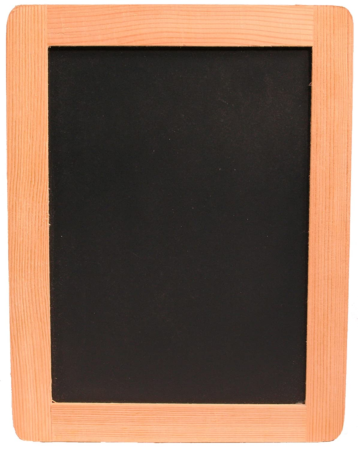 """Creative Hobbies 5"""" x 7"""" Synthetic Chalkboard With Unfinished Wood Frame -Pack of 6 Chalkboards"""