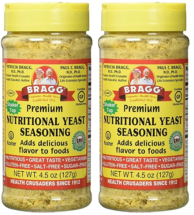 The Best Bragg Live Food Nutritional Yeast Seasoning