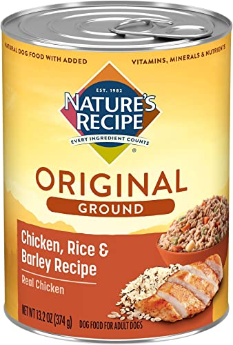 Nature s Recipe Easy to Digest Wet Dog Food, 13.2 Ounce Pack of 12