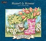Heart & Home 2017 Calendar (Deluxe Wall)