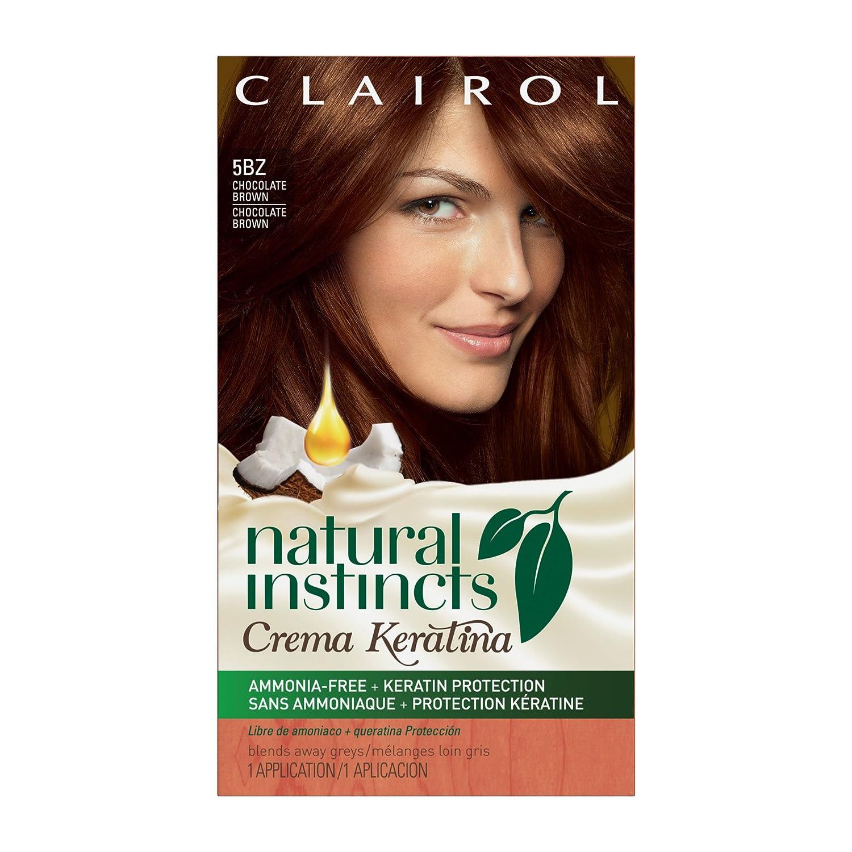Amazon.com: Clairol Natural Instincts Crema Keratina Hair Color ...