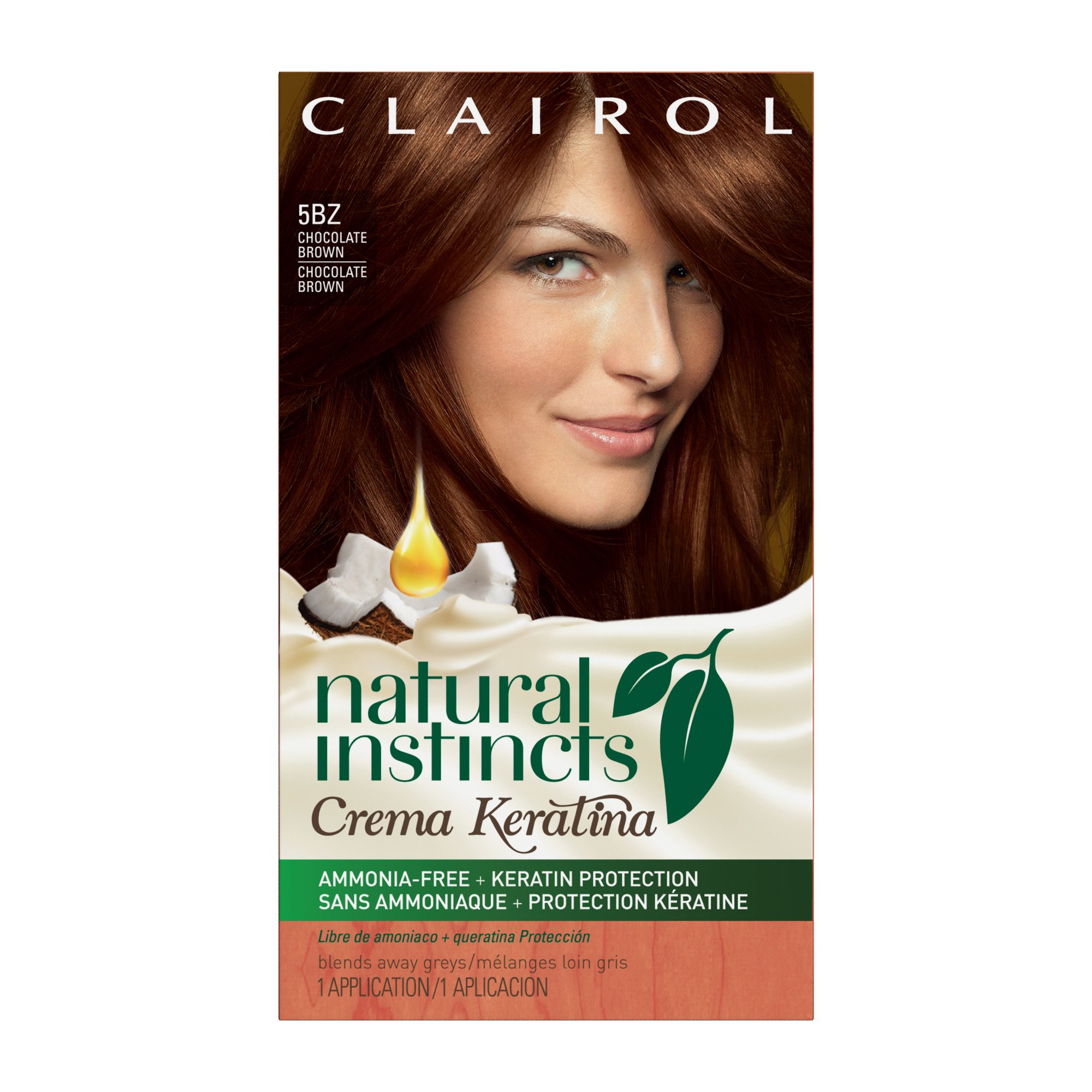 Amazon Com Clairol Natural Instincts Hair Color 4r