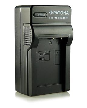 Patona NB-7L - Cargador para cámaras Canon PowerShot G10, G11, G12, SX30 IS y otras