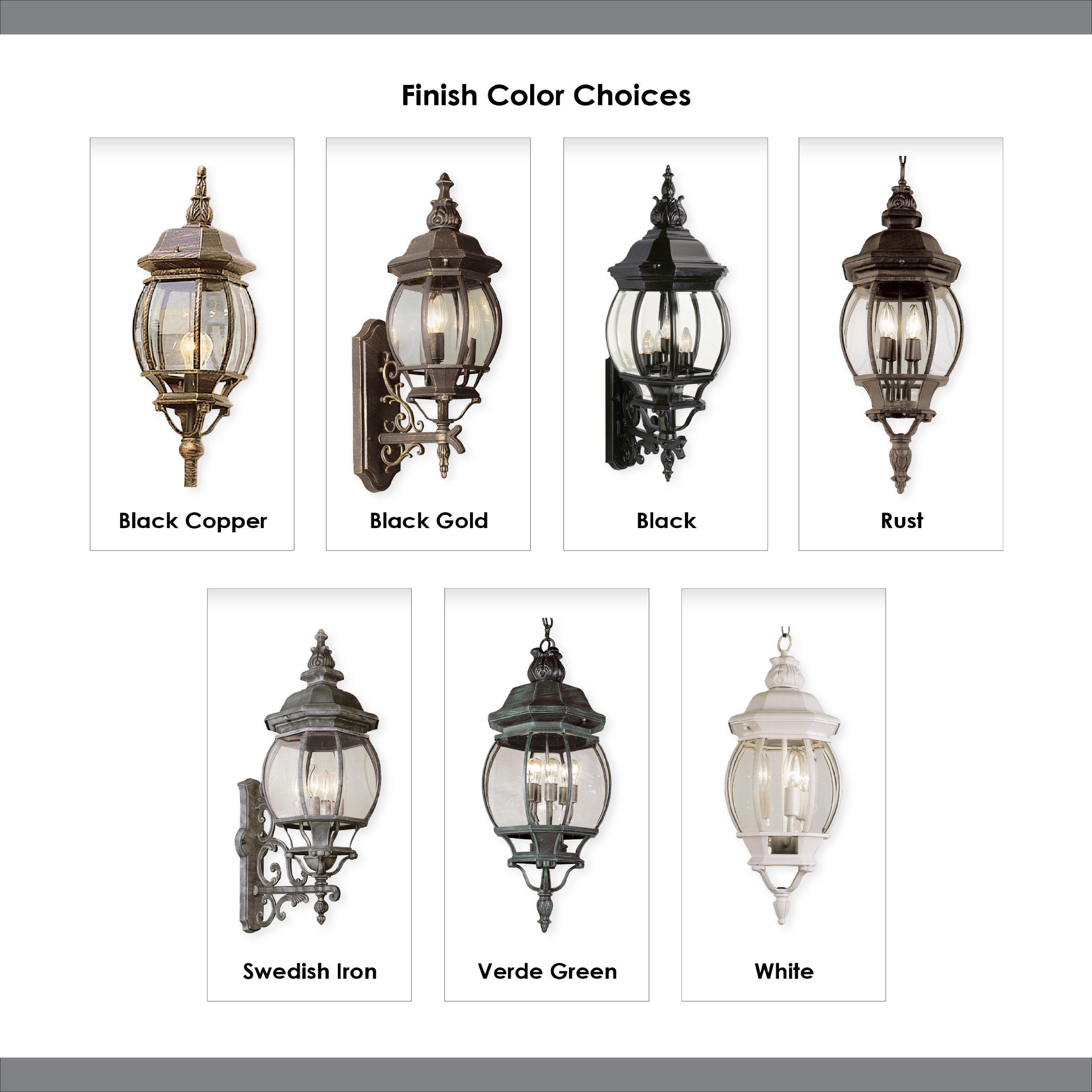 Trans Globe Lighting 4090 BK Outdoor Parkway 91.5'' Pole Light, Black by Bel Air Lighting (Image #1)