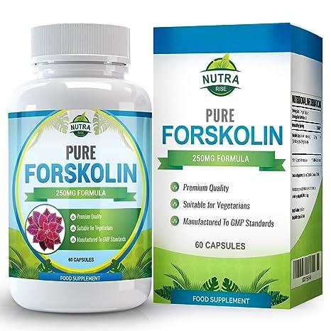 Forskolin, Puro Extracto de Raíz, Estandarizado a 20% para la pérdida de peso