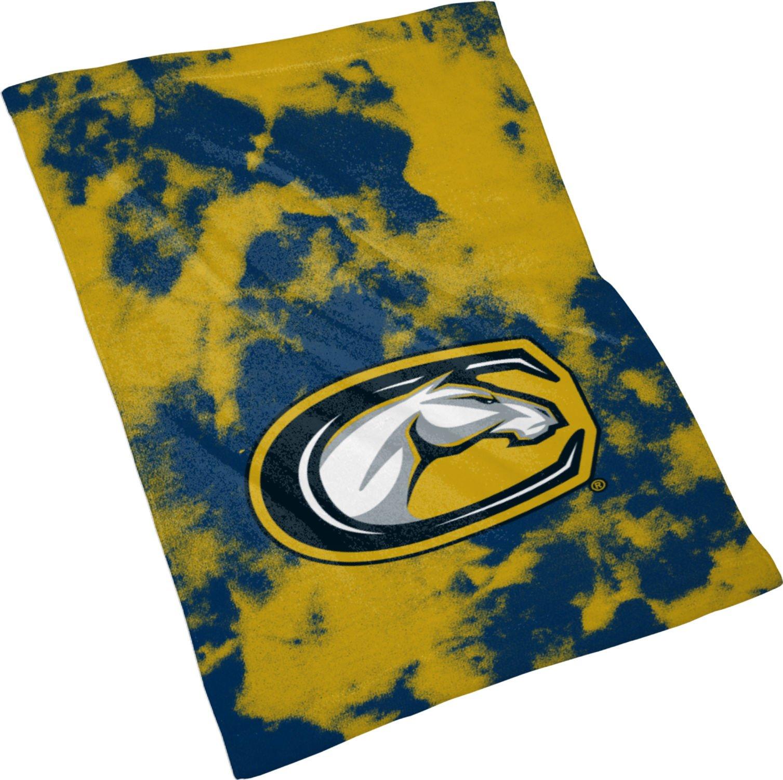Spectrum Sublimation University of California Davis Rally Towel - Grunge FE312 Blue and Tan