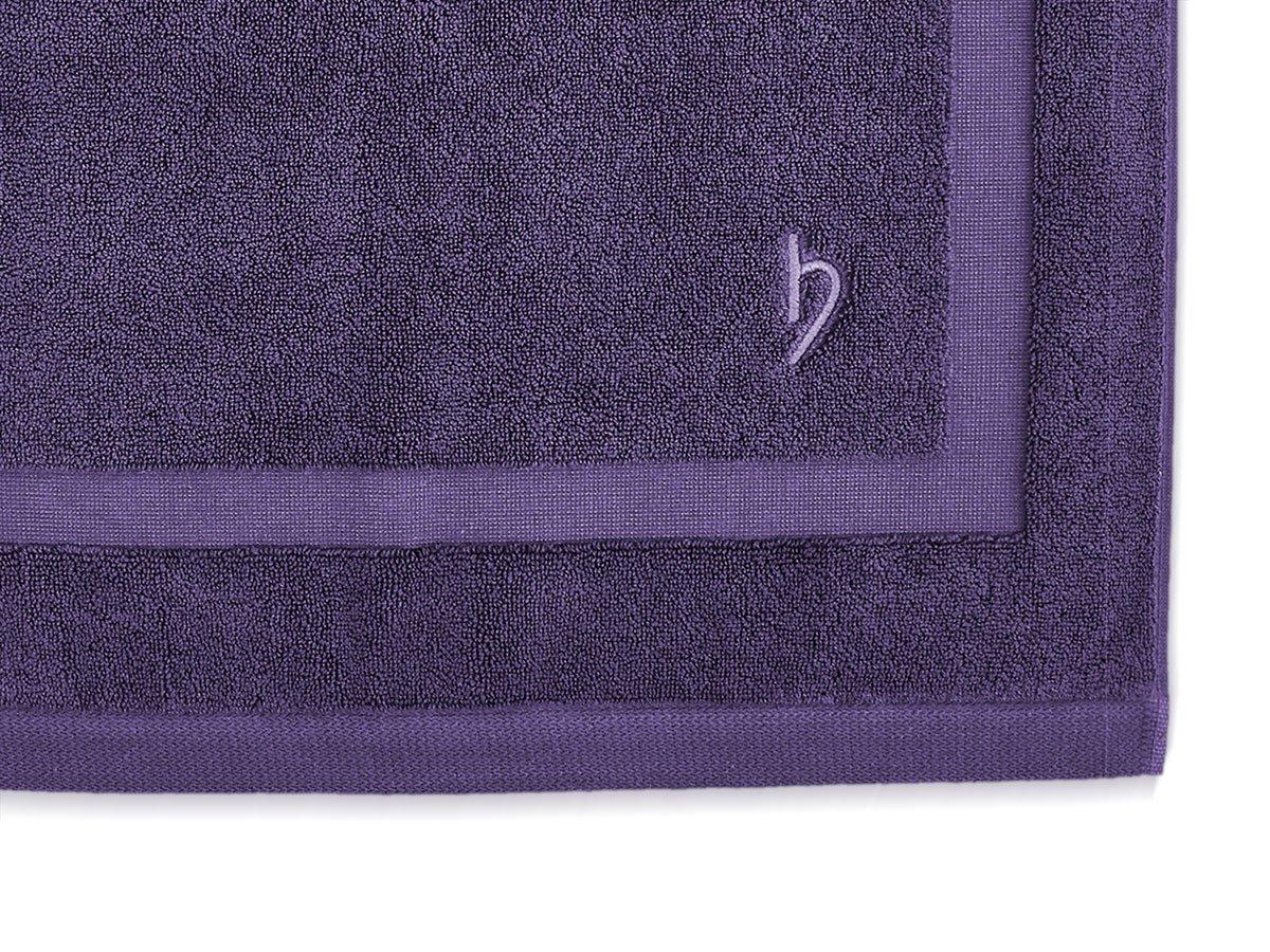 Herzbach Home Bath Mats Premium Quality 100/% Cotton 1000/g//m/² Extra Soft 50/x 80/cm with Border White 100/% Cotton 50 x 80 cm