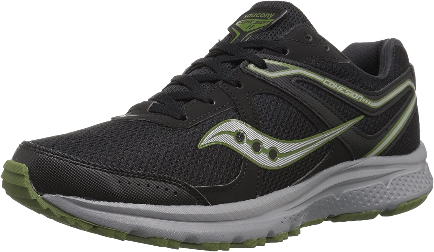 Saucony Men s Omni 16 Running Shoe, Grey Navy
