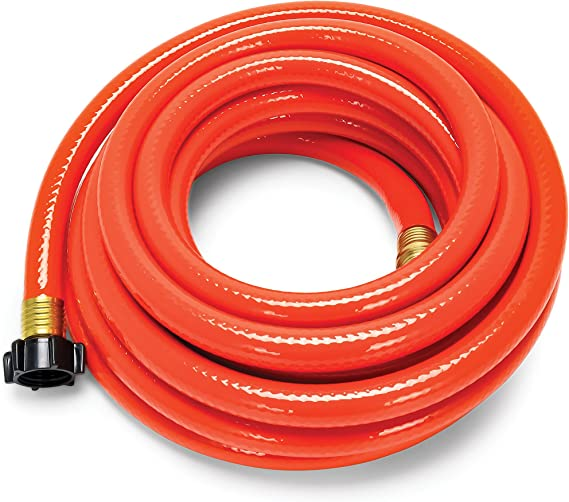 Camco 25ft RhinoFLEX Gray/Black Water Tank Clean Out Hose - Ideal For Flushing Black Water