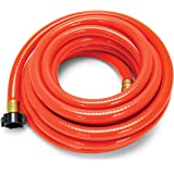 "Camco 22990 RhinoFLEX Gray/Black Water Hose - 25' Clean Out Hose, 5/8"" ID"