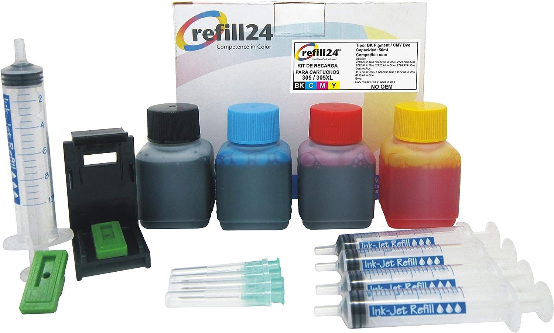 Refill24 Nachfüllset Für Tintenpatronen 305 305xl Elektronik