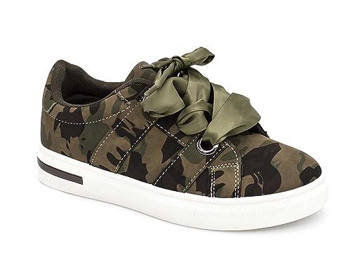 Sneakers donna donna militare