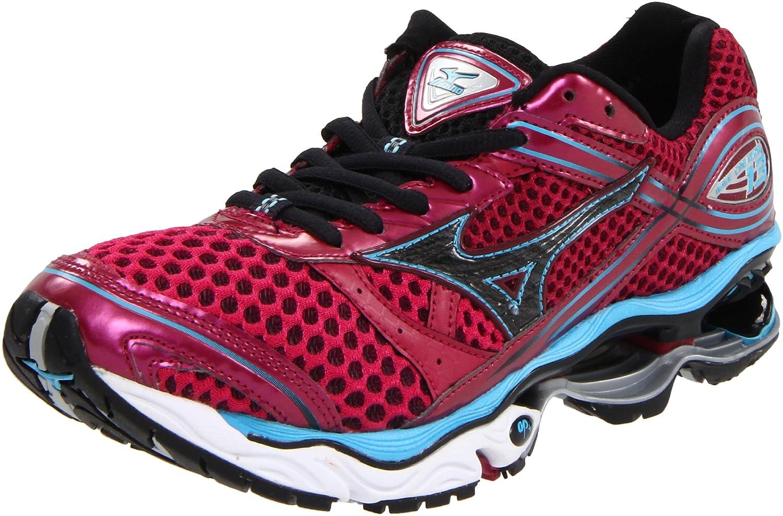 Amazon.com | Mizuno Women's Wave Creation 13 Running, Sangria/Anthracite/ Aquarius, 10 B US | Running