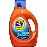 Tide Coldwater Clean Original Scent HE Turbo Clean Liquid Laundry Detergent, 92 oz, 59 loads (Packaging May Vary)