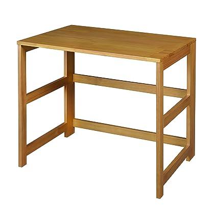 Amazoncom Regency Flip Flop 31inch Folding Desk Medium Oak
