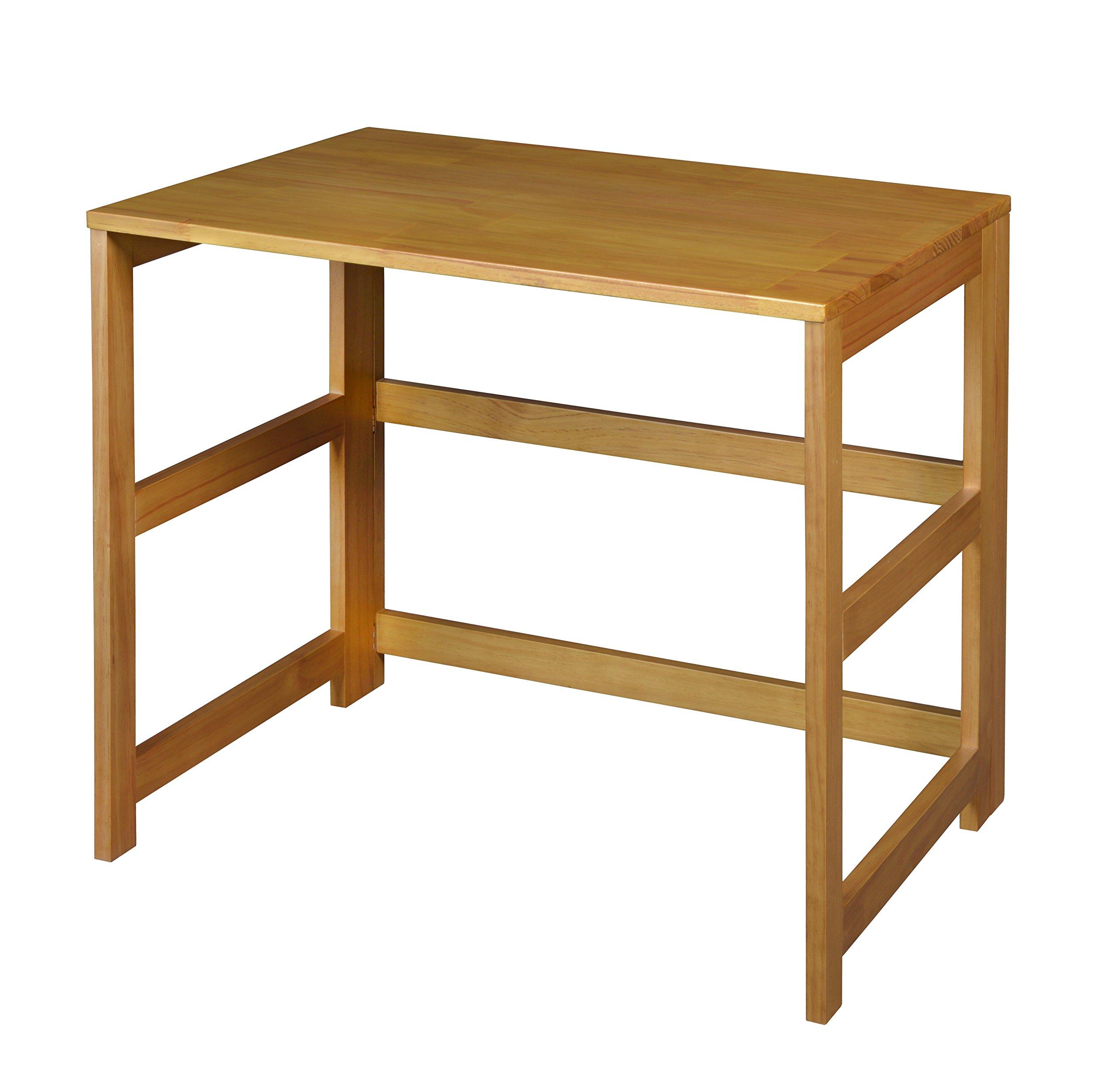 Regency Flip Flop 31-inch Folding Desk- Medium Oak
