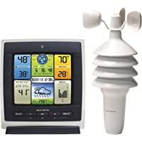AcuRite 01301CCDI Pro 3-in-1 Color Weather Station with Wind Speed