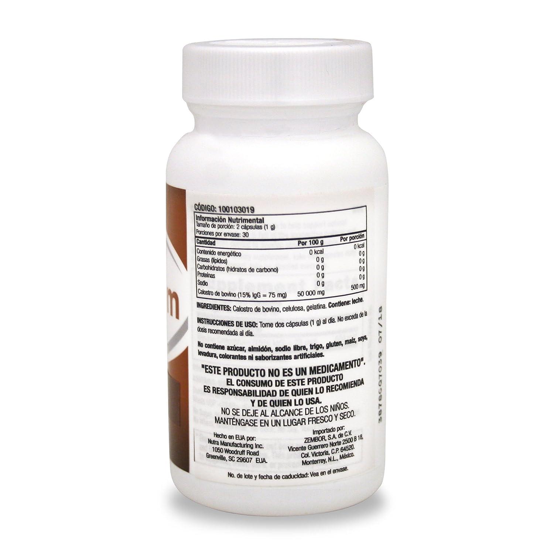 Amazon.com: GNC Preventive Nutrition Colostrum 500mg, Capsules, 60 ea: Health & Personal Care