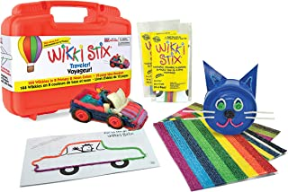 product image for WikkiStix Traveler Playset Craft Kit Molding & Sculpting Sticks (English & French Bilingual Packaging) (1810)