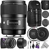 Sigma 35mm F1.4 ART DG HSM Lens for CANON DSLR Cameras w/ Sigma USB Dock & Advanced Photo and Travel Bundle