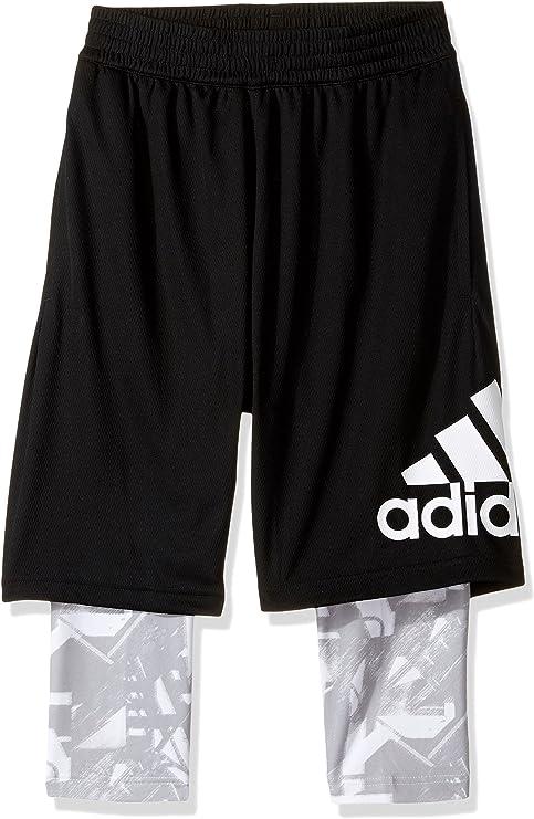 adidas Crazylight Graphic Pantalones Cortos 2 en 1 de Baloncesto ...