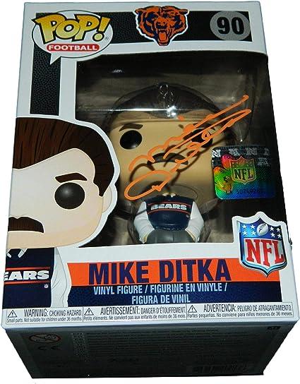 Funko POP NFL ~ MIKE DITKA VINYL FIGURE ~ NFL LEGENDS ~ Chicago Bears Football