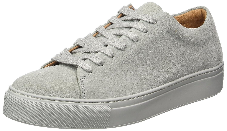 SELECTED FEMME Damen SfDamens New Suede Sneaker Grau Grau Sneaker (Grau) 1bda50