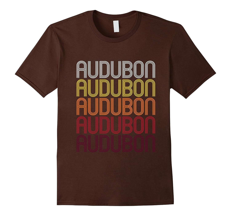 Audubon NJ  Vintage Style New Jersey T-shirt-PL
