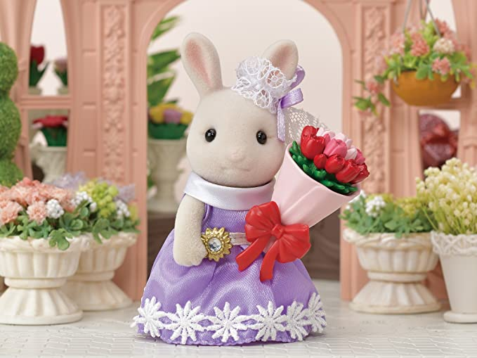 Sylvanian Families Calico Critters Blooming Bouquet Flower Shop