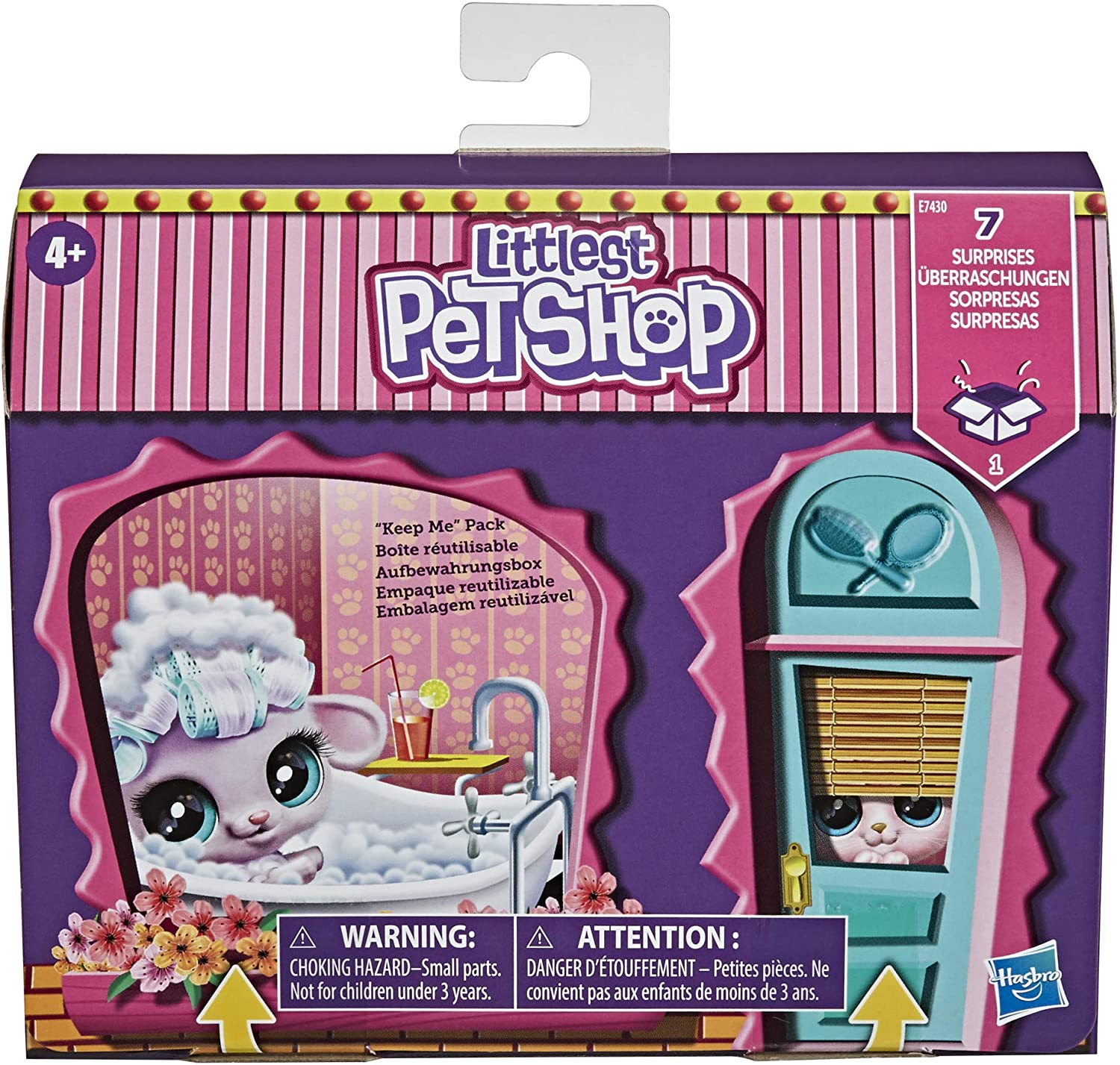Littlest Pet Shop Fancy Pet Salon Toy, Lots to Collect, Ages 4 and Up